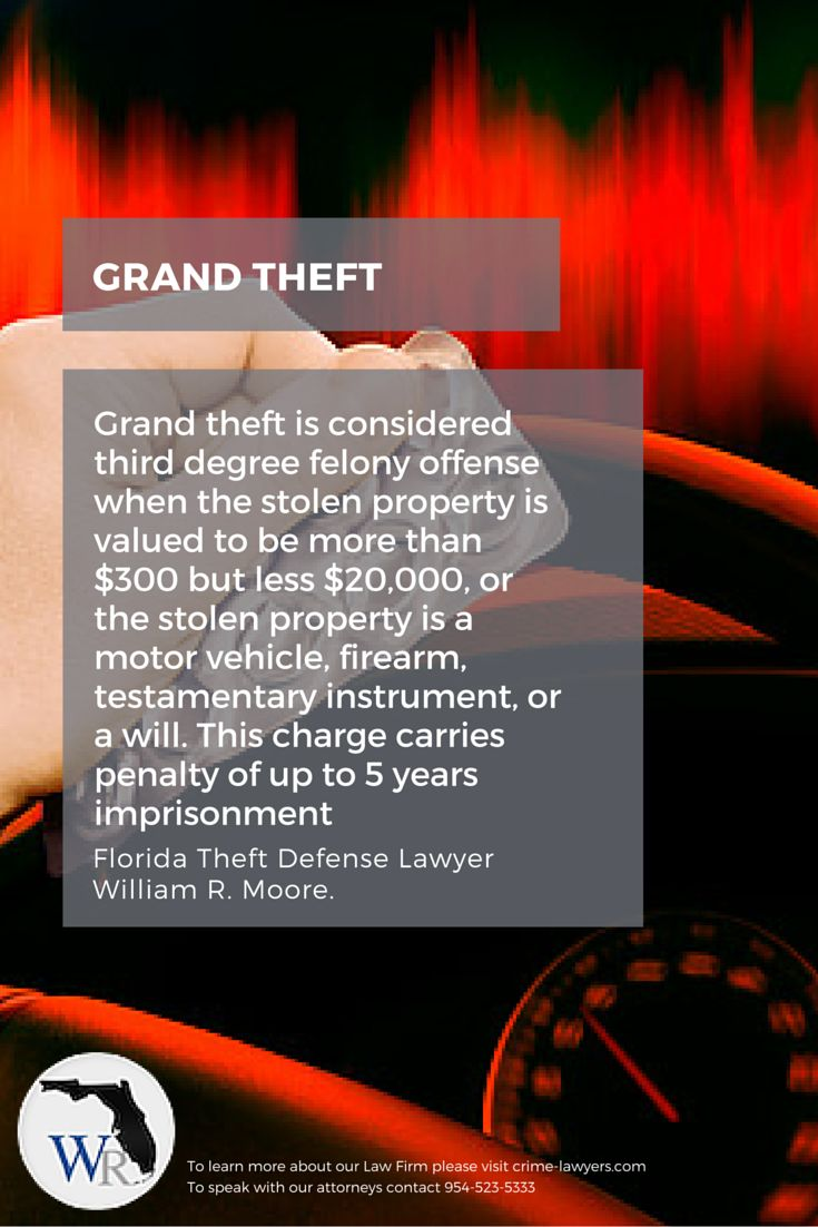 the two degrees of larceny Read this essay on degrees of larceny larceny is commonly divided into two degrees in most states: grand larceny and petty larceny.