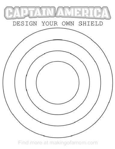 17 best images about sunday school on pinterest avenger for Captain america shield coloring page