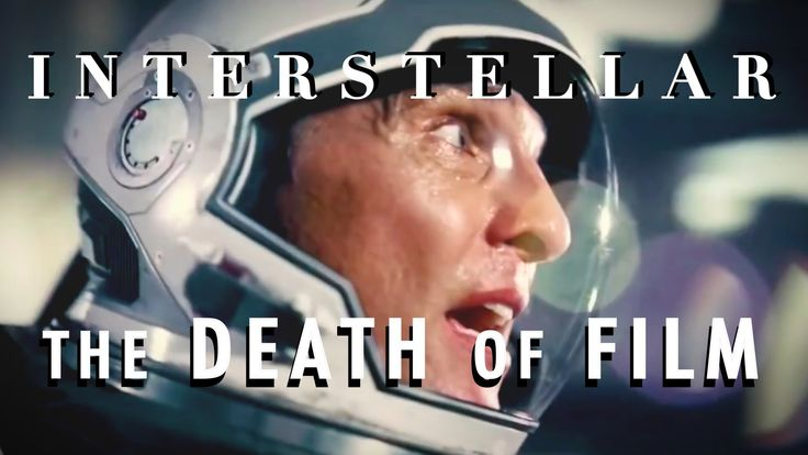 Interstellar Is About The Death of Film (Spoilers)