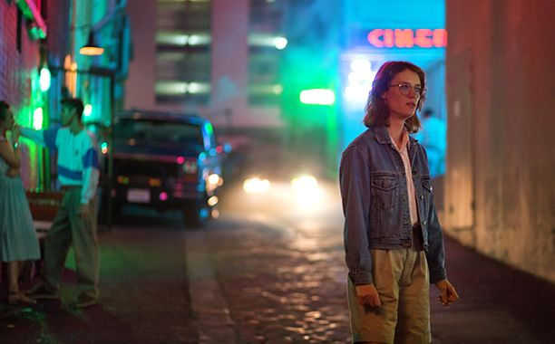 """In """"San Junipero,"""" the '80s-tinged episode of the new Black Mirror season, two seemingly young women named Kelly and Yorkie fall in love during scenes set to tracks by Belinda Carlisle, The Bangles, and The Smiths.  Though the setting is bizarrely confusing until the middle half of the episode — no spoilers here! — Black Mirror fans were amused by the show's apparent journey to the past, as most episodes only play with the future."""