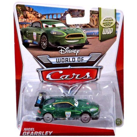 Disney Cars Series 2 Nigel Gearsley Diecast Car, Multicolor