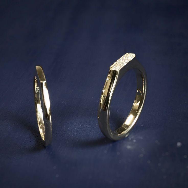 .  ・  ・  ・  enom marriage ring  (made to order)  ・  diamond, k18yg  ・  ・  ・  @enom_b (wedding ring account)  ・  ・  ・  ・  #enom  #handmadejewelry  #jewelryshop  #jewelrydesign#jewelrycraftman  #bridal#wedding  #marriage#marriagering  #engage#engagering  #エノンジュエリー  #ハンドクラフト  #ジュエリーデザイン  #オーダーメイド#オーダーリング  #手作り  #リングリフォーム#指輪リフォーム  #婚約指輪リフォーム  #指輪探し#リング選び  #ジュエリーショップ  #ジュエリーアトリエ  #渋谷#表参道  #ビラモデルナ  #コルビジェ#坂倉準三