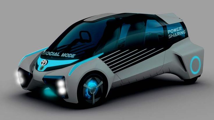 Toyota's hydrogen concept car (6)
