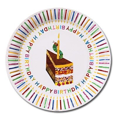 The Hungry Caterpillar Party Plates