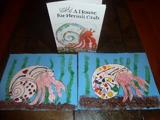Decorate a Hermit Crab Shell from Mom to 2 Posh Lil Divas