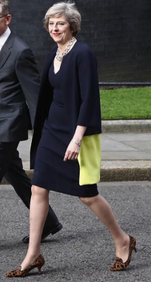 L.K.Bennett was founded 26 years ago, the last time there was a woman at 10 Downing Street. Today Theresa May became the next Prime Minister of Great Britain and Northern Ireland. We hope she inspires future generations of women and are honoured that she chose to wear L.K.Bennett shoes to mark her first day in office #lkbennett #inspiringwomen