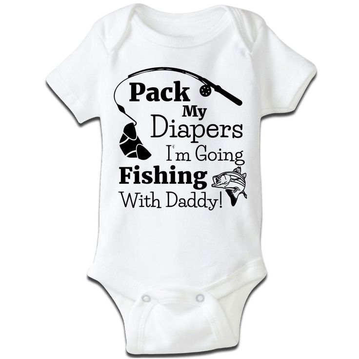 44 best cute baby clothes images on pinterest babies for Baby fishing shirts