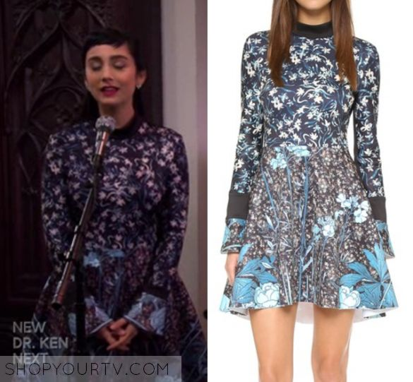 """Last Man Standing: Season 6 Episode 18 Mandy's Floral Printed Dress 