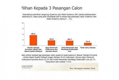 Denny JA Ungkap Keanehan Survei SMRC yang Menangkan Ahok