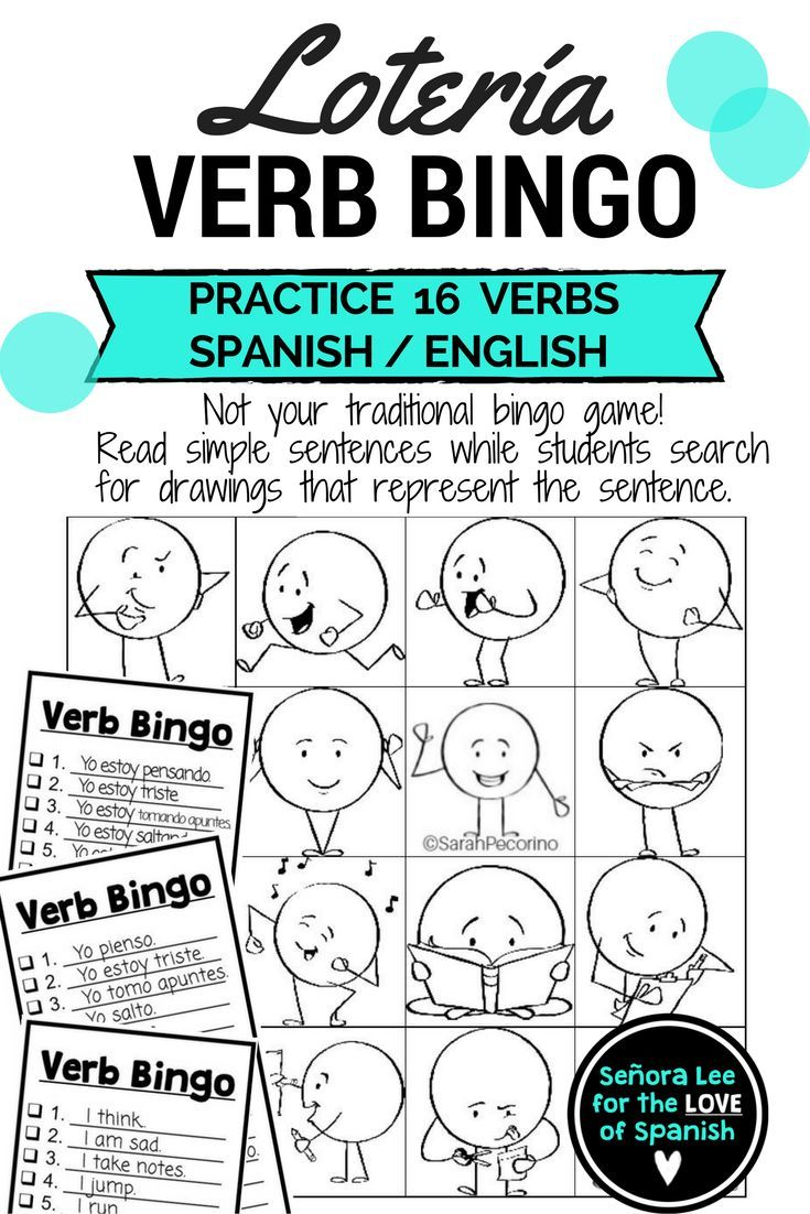 Spanish Language Learners or English Language Learners. No prep, ready to use!