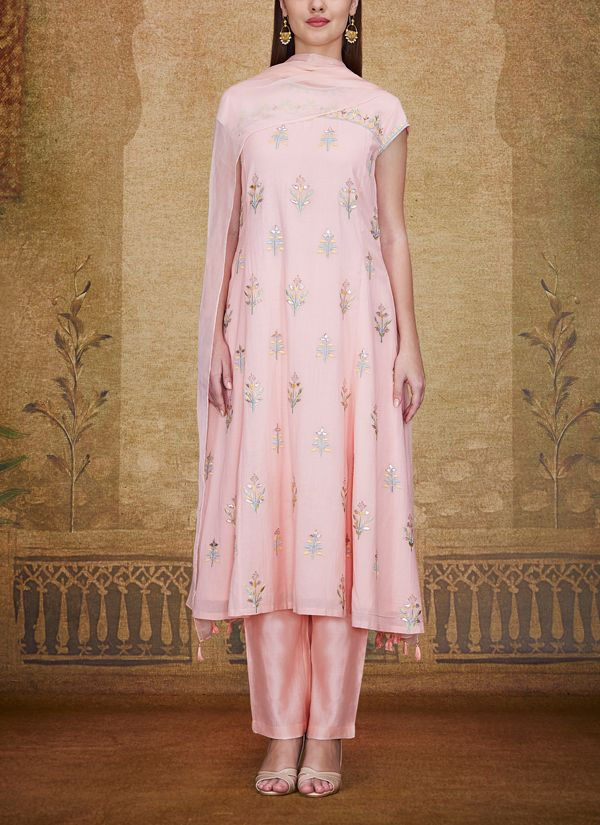 Anita Dongre | The Isabis Suit | Shop Salwars at strandofsilk.com