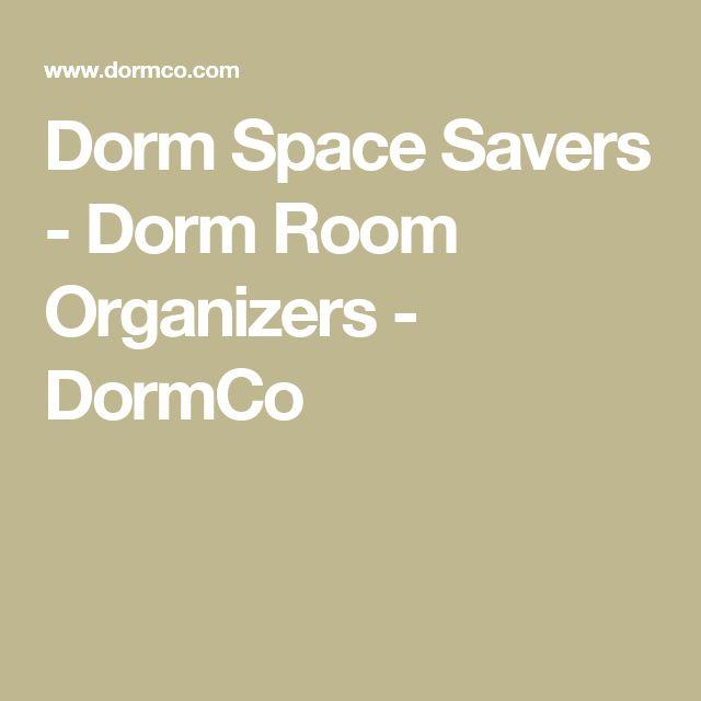Dorm Space Savers - Dorm Room Organizers - DormCo