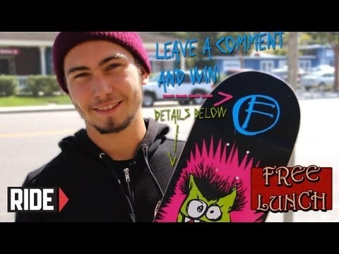 In this episode of Free Lunch, Dakota Servold makes a porno, describes Nick Merlino, gets kicked off Toy Machine for having a perm and more!    Win a Foundation Skateboard deck!!    How to Enter:  During the Contest Period, watch Free Lunch Episode 12 featuring Dakota Servold and leave a comment below.