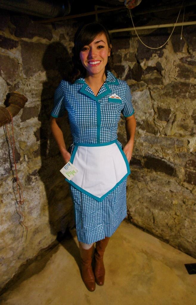 Casino waitress costume