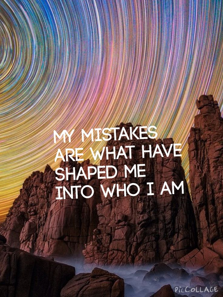 Mistakes exist to be made.