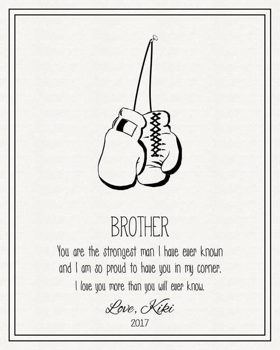 PERSONALISED Brother Of The Bride FRAMED PRINT Thank You For Giving Me Away