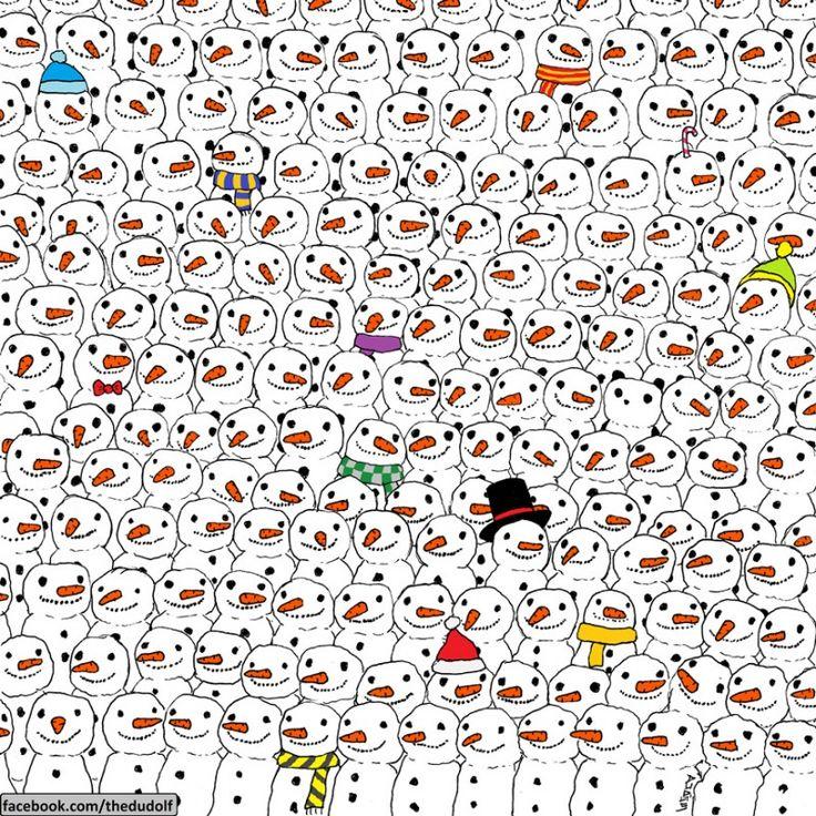 Die meisten Menschen schaffen es nicht, den Panda auf diesem Bild in weniger als 1 Minute zu entdecken. Und du?dex1.info – Nachrichten, News, Schlagzeilen