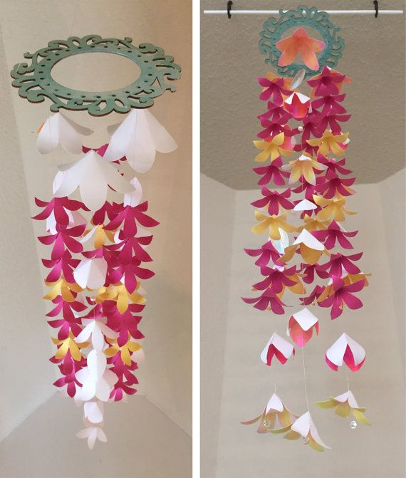 Best 25+ Hanging Paper Flowers Ideas On Pinterest