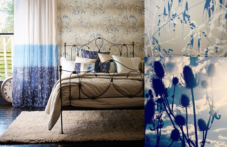Harlequin Wallpapers - Callista by Clarissa Hulse - Available from Clark & English