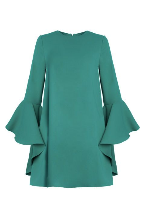 If you're as pale as me, you'll know that jewel tones are a go-to when it comes to shopping for that wedding grind. Check out the New Revival's Bell Sleeve Dress in a gorgeous emerald tone! Buy it now: http://fave.co/2bDeipQ