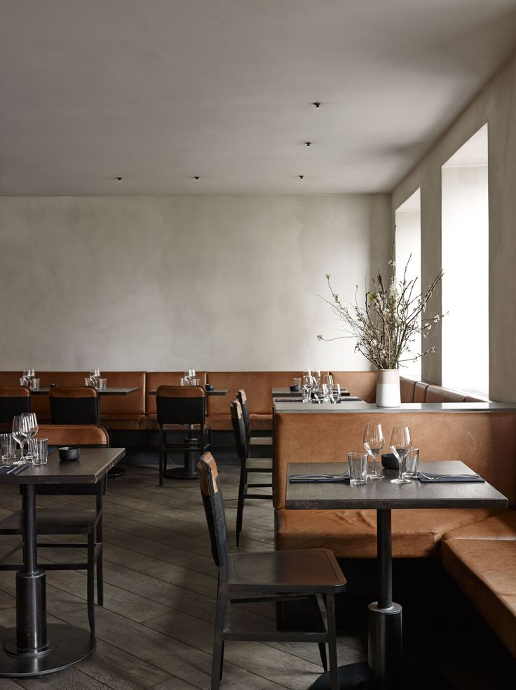 Musling Restaurant in Copenhagen, Denmark by Space Copenhagen | Yellowtrace