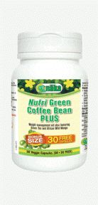 Naka Nutri Green Coffee Bean Plus 90 Caps. Nutri Green Coffee Bean Plus, Naka's powerful new formula, is driven by the hottest natural weight-loss ingredient available and enhanced with the added benefits of additional nutrients.
