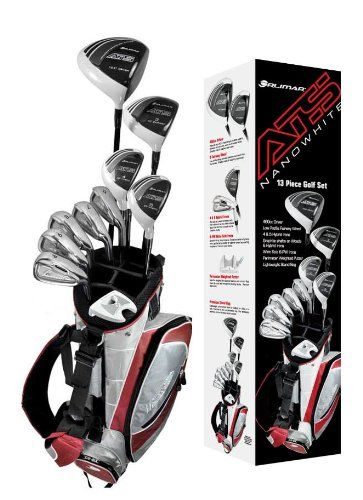 Featuring a 460cc forged driver these mens ATS complete golf club sets also provide graphite shafted woods and hybrids