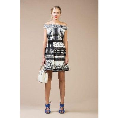 Rinascimento Liberty Print Dress