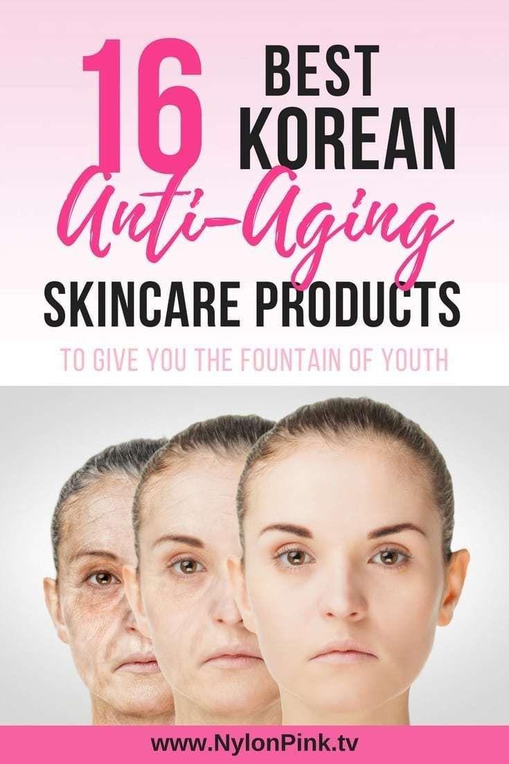 16 Best Korean Anti Aging Skin Care Products Pinterest Korean Anti Aging Anti Aging Skin Care Aging Skin