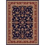 Sensation Navy (Blue) 10 ft. 6 in. x 14 ft. 6 in. Traditional Area Rug