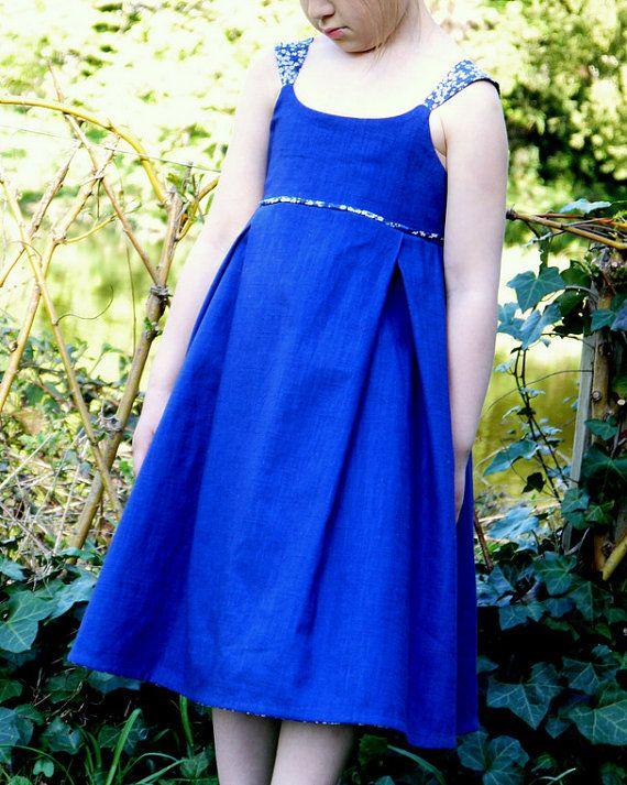 Patron de couture robe ou top Modèle ONDINE  par UneRosesurlalune