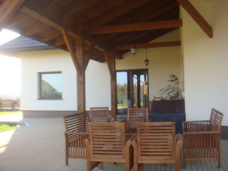 Taras domu jesion #taras #projekt #budowa