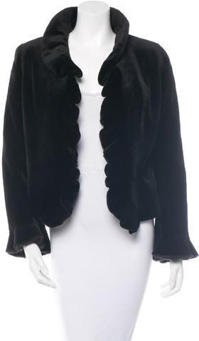Fur Sheared Mink Jacket
