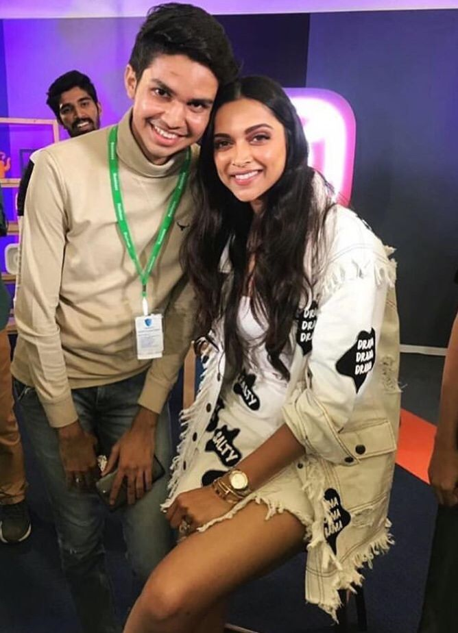 Deepika Padukone Borrows Ranveer Singh S Quirky Style As She Attends Event With Facebook Instagram Hungryboo Deepika Padukone Ranveer Singh Dreamy Wedding