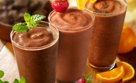 Me Encanta el Chocolate: Refrescante Smoothie de Chocolate