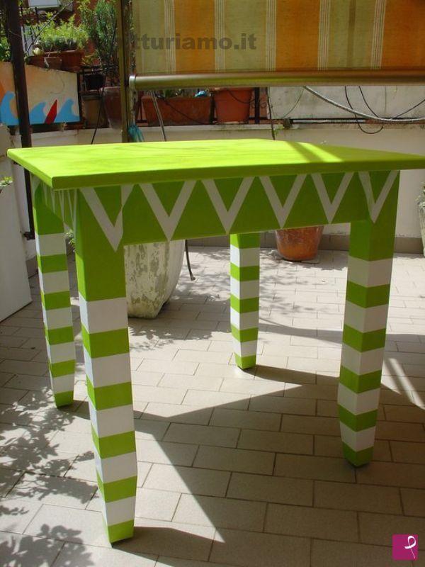 tavolo fantasia di Alexia Molino