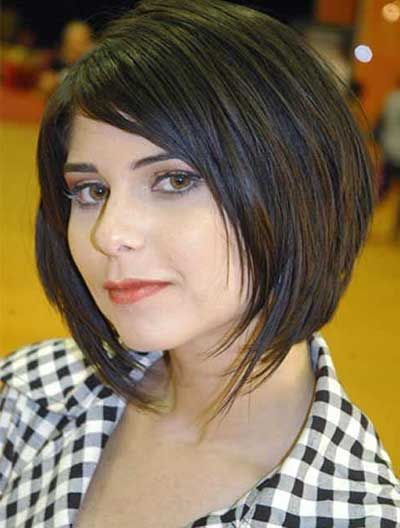 a891bbfae9f79 Veja as mais lindas fotos de cortes de cabelos para rosto redondo!  Selecionamos fotos com