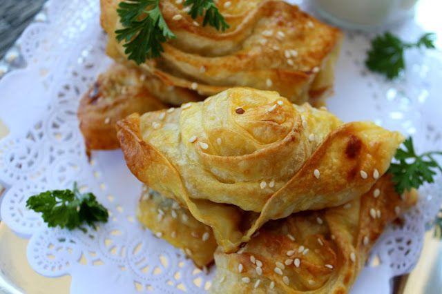 Cooking with Zoki: Patlıcanlı Böreği - Aubergine/Eggplant Borek