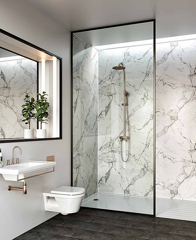 Bathroom Specialists Mr Wet Wall Australia Grout Free Wet Areas Bathroom Wall Panels Waterproof Bathroom Wall Panels Calacatta Marble Bathroom