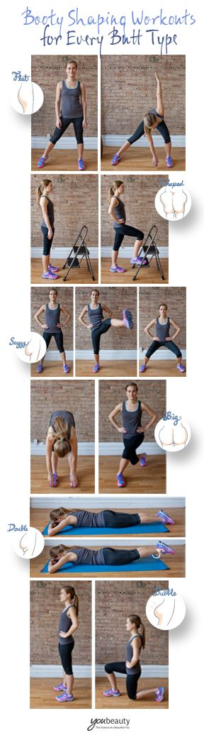 A booty-shaping workout for every butt type.