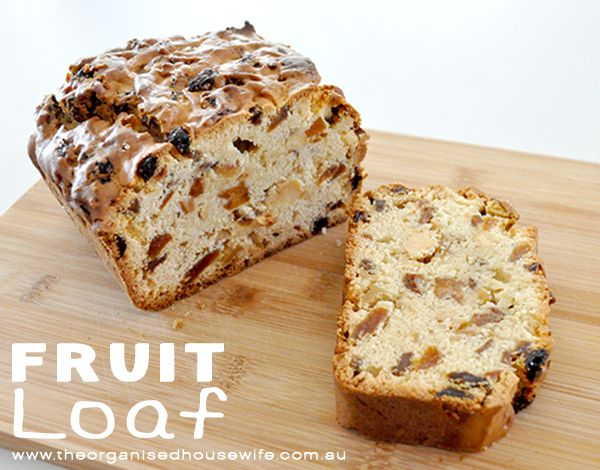 {Recipe } Fruit Loaf