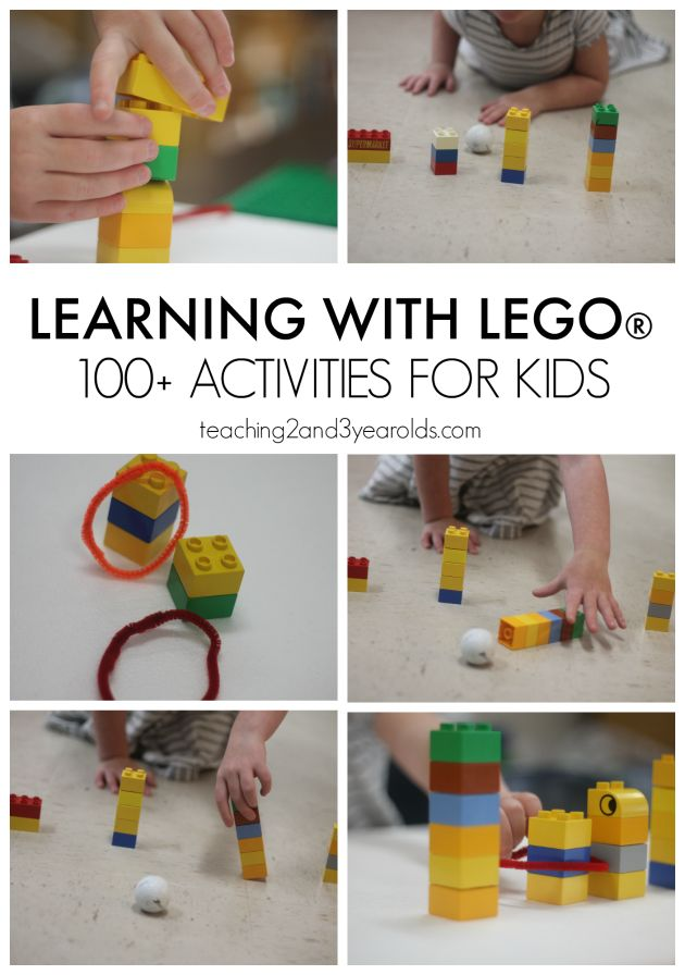 424 Best Images About Lego Learning Activities On