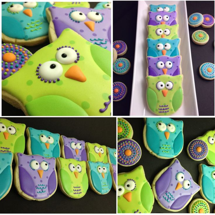 owl cookies- first day of school for my owl classroom!