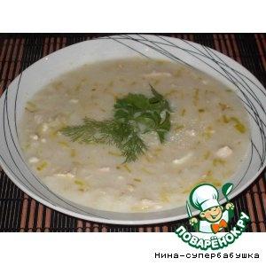 """""""Английский куриный суп с сыром"""""""