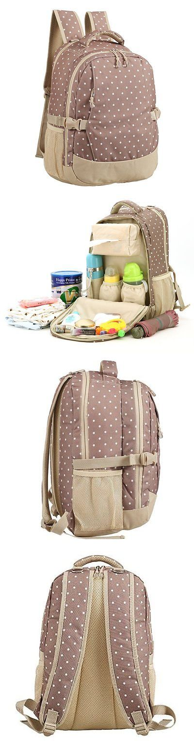 baby kid stuff: Abonnylv Fashion Cute Diaper Bag Backpack Baby Travel Backpack With Insulated 2 BUY IT NOW ONLY: $59.6