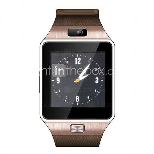 USD $ 34.99 - Fashion DZ09 Wearables Smart Watch ,Hands-Free Calls/2.0MP Camera/ Bluetooth Mate / Remote Camera for Android&iOS