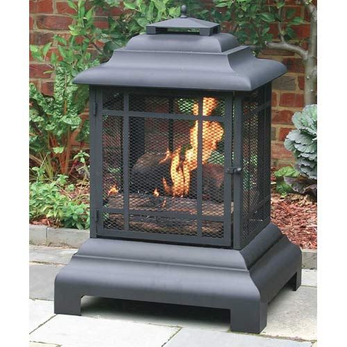 Rectangle Pagoda Patio Fireplace- my birthday is June 17th