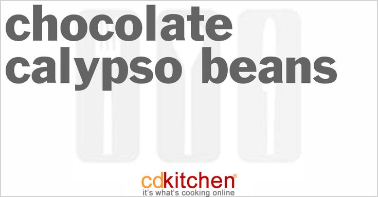 A recipe for Chocolate Calypso Beans made with dried calypso or black beans, olive oil, medium-large onion chopped, red bell pepper
