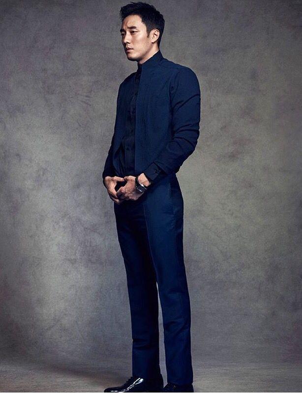 He is so handsome
