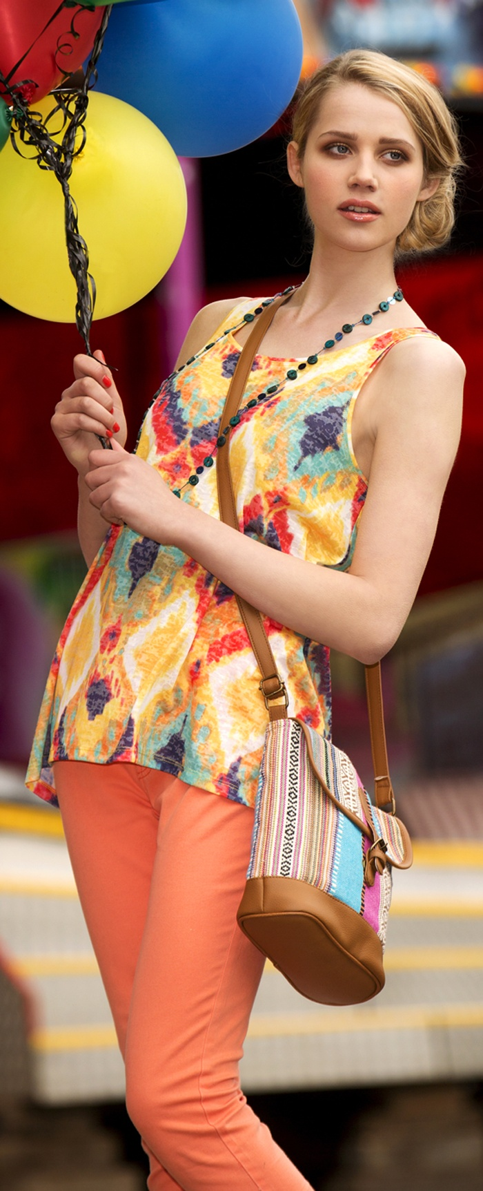 tribal and brights - dunnes - TRENDS FOR SPRING & SUMMER - http://boomerinas.com/2013/02/different-types-of-tribal-print-pattern-trends/
